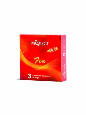 Préservatif PROOTECT Orange Feu PROOTECT Maroc
