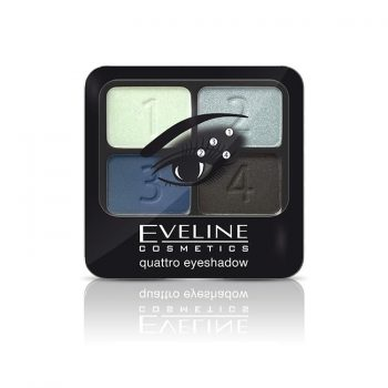 QUATTRO EYESHADOWS Eveline cosmetics Maroc