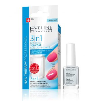 NAIL THERAPY DRY, HARD AND SHINE Eveline cosmetics Maroc