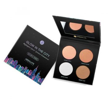 Glow In The City Highlighther Quad ABSOLUTE NEW YORK Maroc