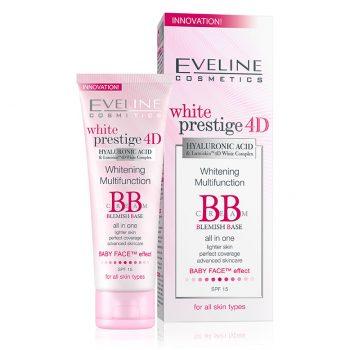 WHITENING MULTIFUNCTION BB CREAM BLEMISH BASE Eveline cosmetics Maroc