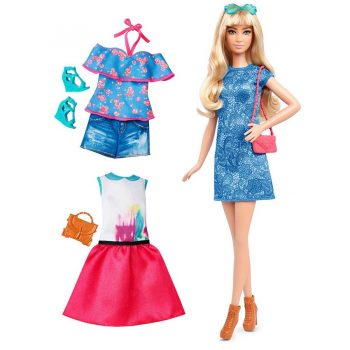 Barbie® Fashionistas 43 Lacey Blue Doll & Fashion Barbie Maroc