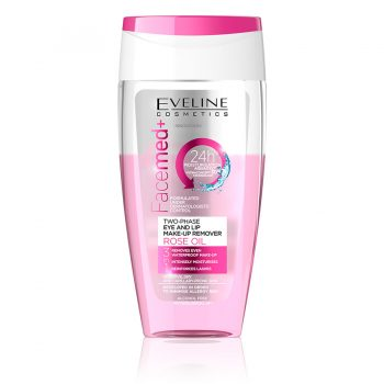 ROSE OIL MAKE-UP REMOVER Eveline cosmetics Maroc