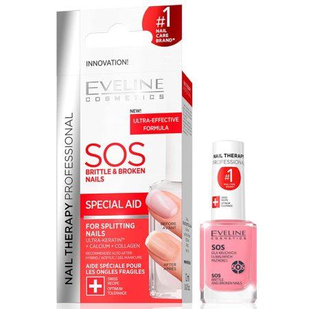 Eveline Cosmetics SOS aide spéciale pour les ongles fragiles